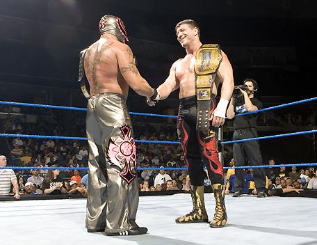 Resultado de imagem para Eddie Guerrero Rey Mysterio no way out